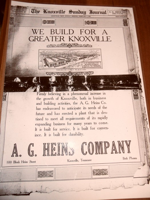 About A G Heins Company Inc