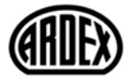 Ardex Inc Company LOGO