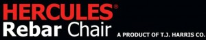 Hercules Rebar Chair LOGO