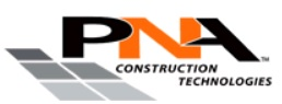 PNA Construction Technologies LOGO